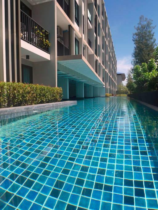 60米超长泳池!!! excellent 60 meters pool