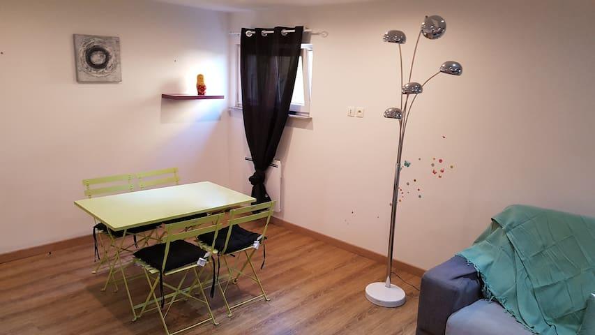 Appartement F3 dans maison individuelle