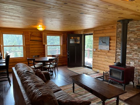 Amazing Secluded Cabin On 10 Acres, Close To Breck