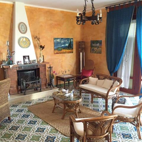 Villa Del Carrubo, 2 passi dal mare - Tonnara di Bonagia - Hus