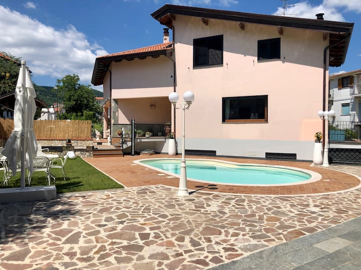 Apartment in Villa Crystal with pool