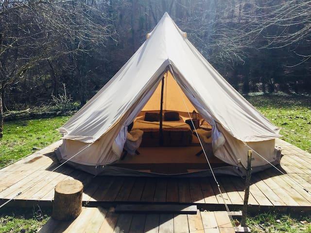 Terrasse en bois de 30 m2