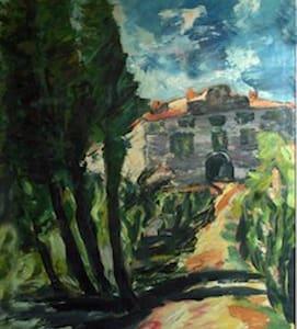 Casa Padronale nel Chianti - Bucine - Wohnung