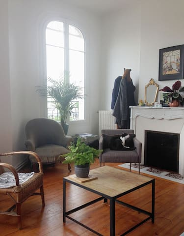 Grand appartement calme et spacieux - Soissons - อพาร์ทเมนท์