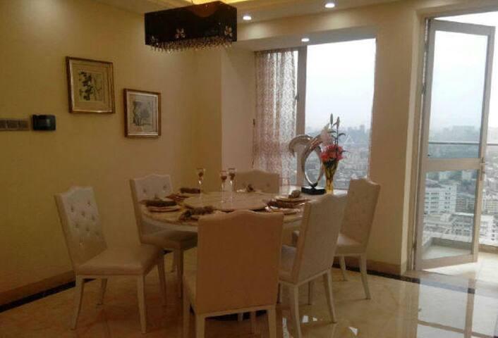 环境优雅,干净卫生,拎包入住。 - Weihai - Lägenhet