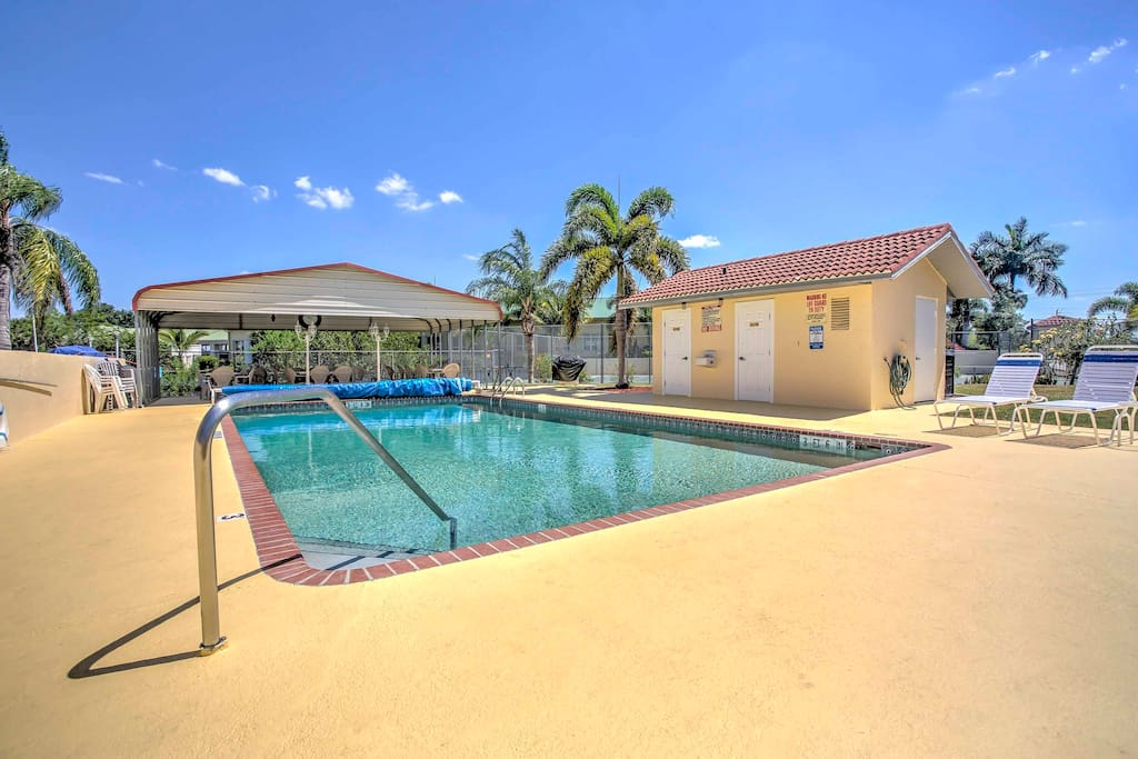 With a private hot tub and access to the pool, this home is the perfect choice!
