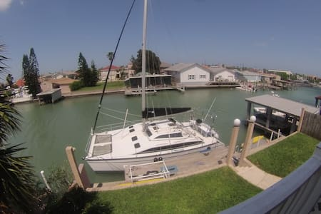 On the water in Modern Venice - Port Isabel - Apartamento