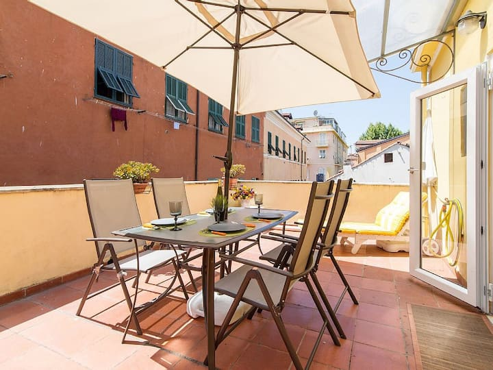 ☆Very Central ✔4 bedrooms ✔WiFi ✔Rooftop ✔Parking☆