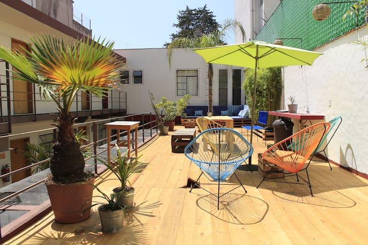 Habitación con terraza en San Ángel cerca de UNAM - Ciudad de México - Other