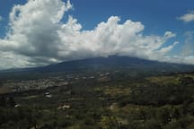 the many faces of Volcan Baru weather!