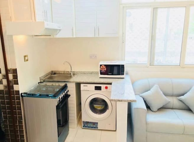 Furnished  studio in Al muroor Rd