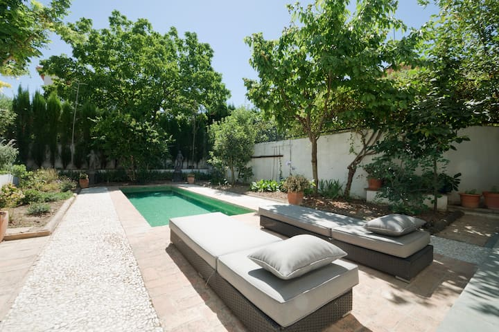 Just charming, peaceful & secluded - Granada - Apartamento