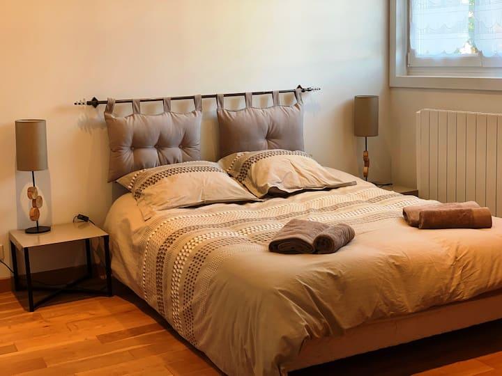 jolie chambre à la campagne, aux portes de Lille