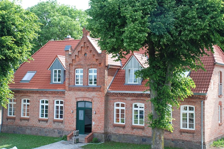 Spacious Apartment in Lübberstorf with Garden