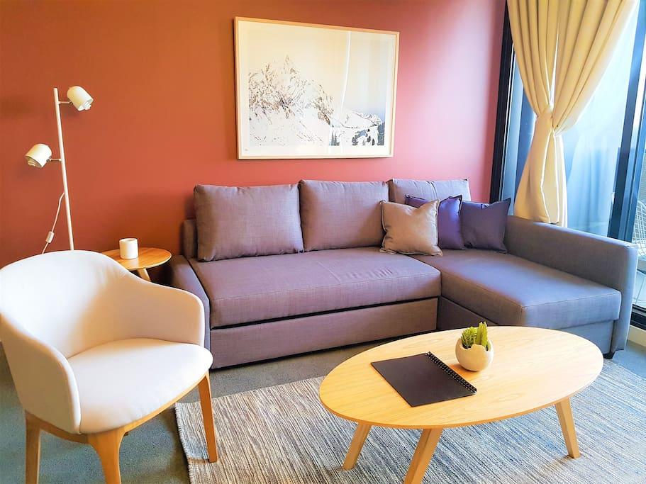 Designer furnishing