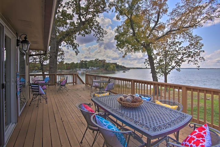NEW! Grand Lake Waterfront Home: Shared Boat Ramp!