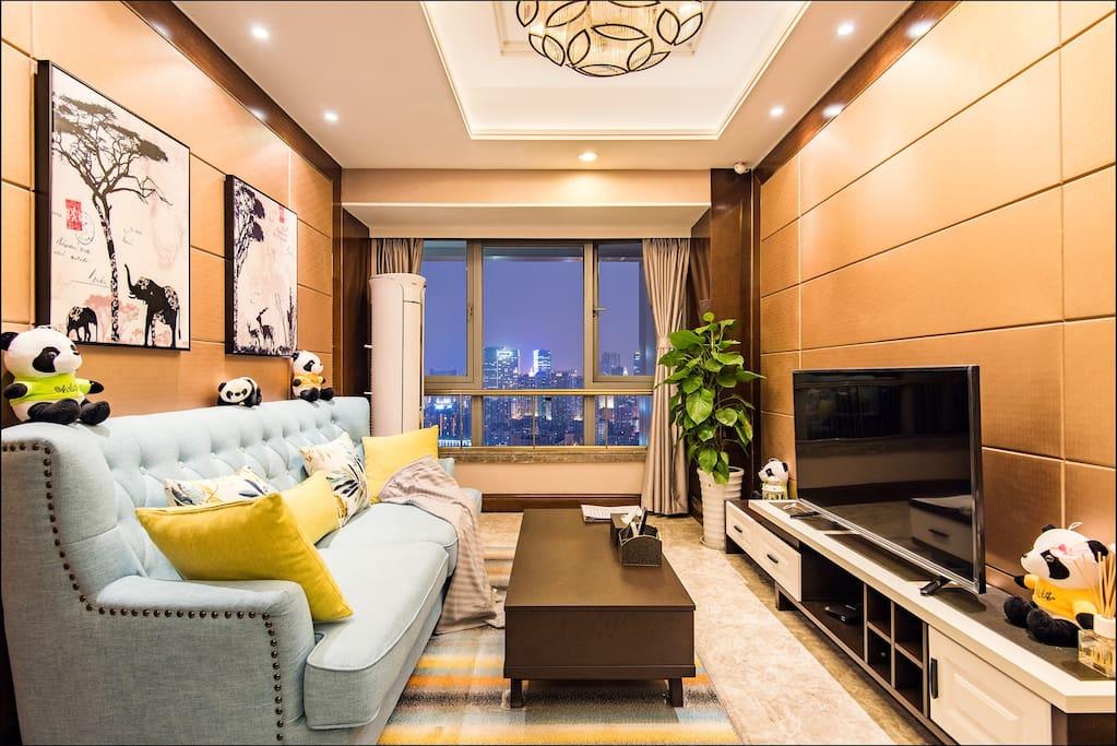 温馨的客厅,给你一个想要的家