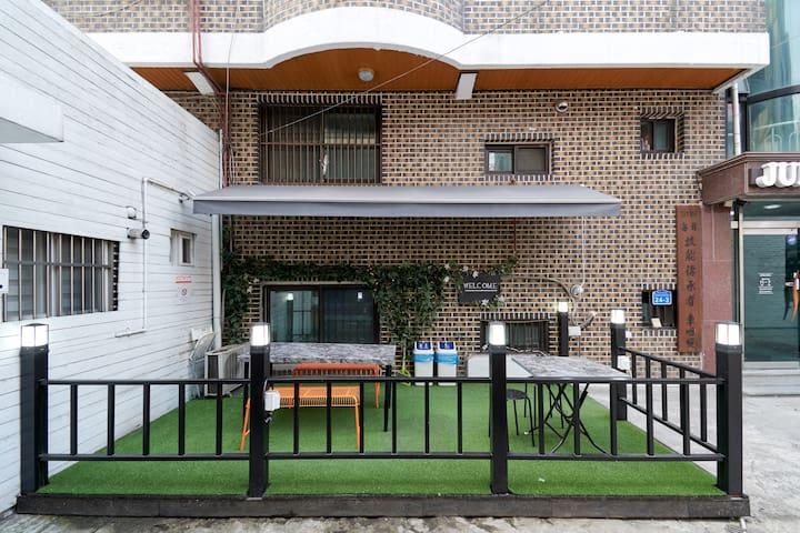 open-air public space