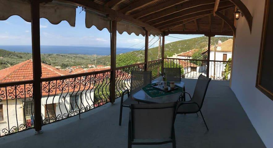 Βεράντα με θέα - Kallirachi - Haus