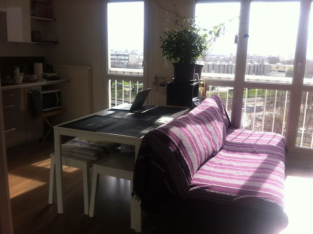 STUDIO 30m2 RER B LE BOURGET 15 MIN PARIS CENTRE - Le Bourget - Appartamento