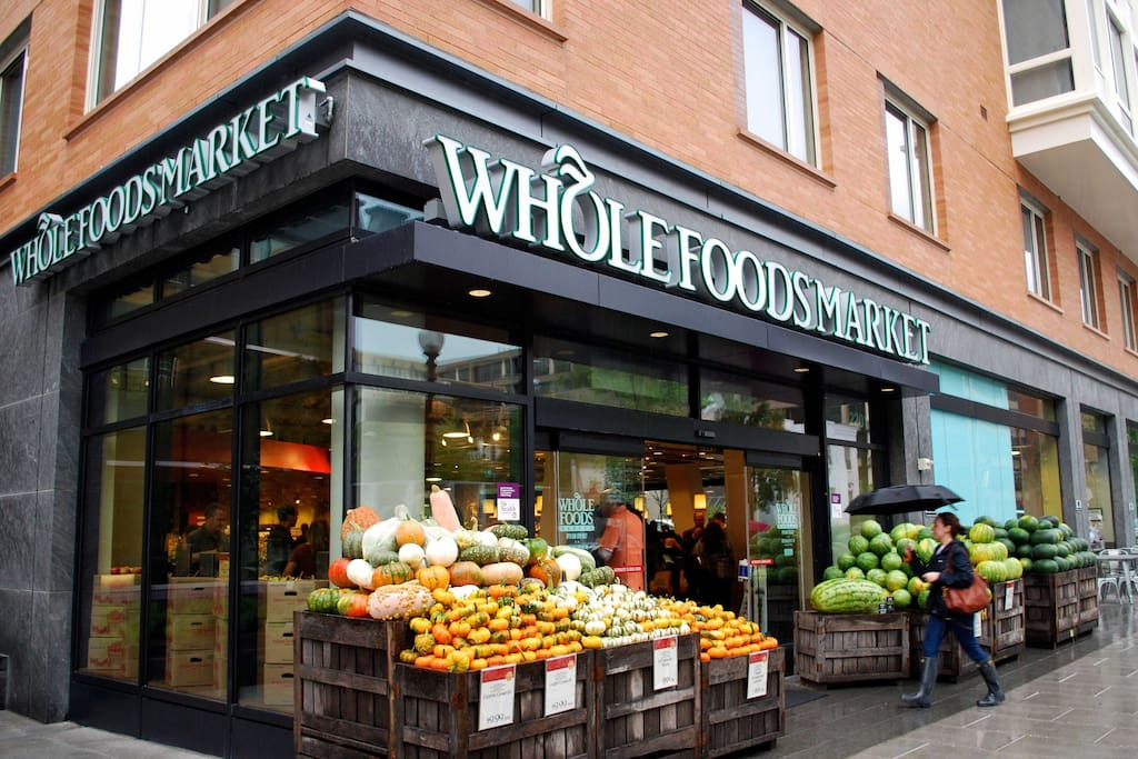 Whole Foods & 24/7 Harris Teeter!