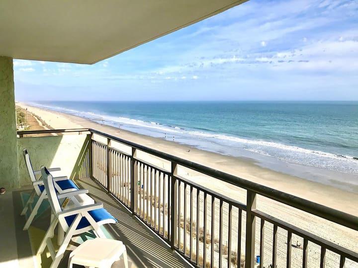 OceanFront 2bd/2ba Dolphin Views Myrtle Beach