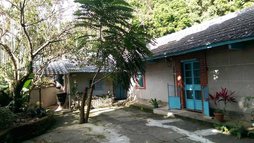 新社懷舊三合院包棟(8~14人)花海,古堡