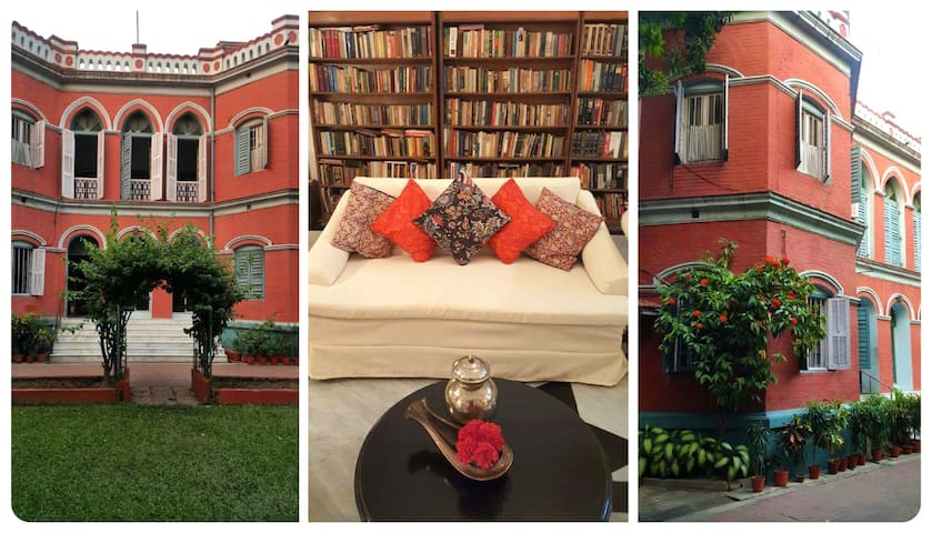 LalBari - The Heritage Red Brick House - Kolkata - Bed & Breakfast
