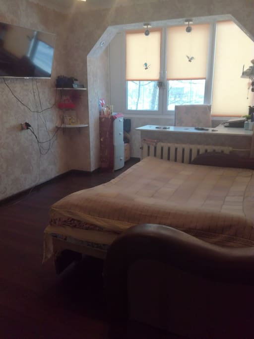 вторая половина комнаты