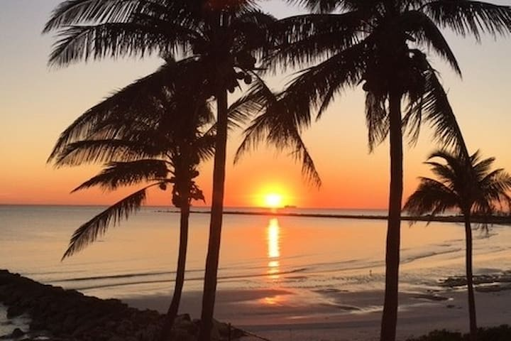 Beachfront Beauty With Spectacular Sunsets