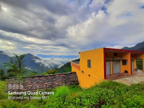 Khalsen homestay,nature,farmhouse,forest,mountain