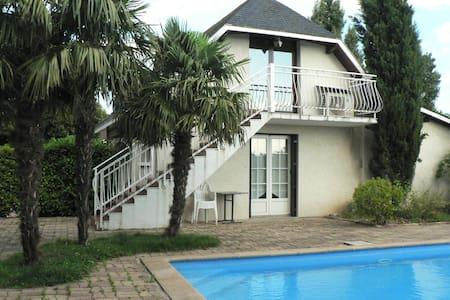 Gite T2 à 20 mn de Lyon (Toussieu) - Toussieu - Apartament