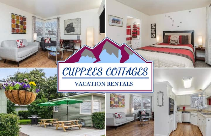 Cupples Cottage #3: Downtown! Close to JBER!
