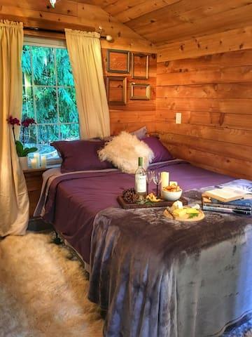 The Cedar Cabin at The Forest Farmstead