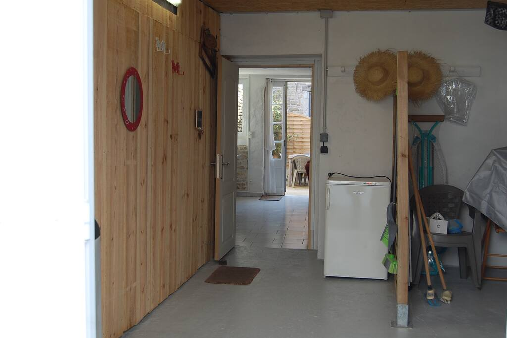 entrée garage