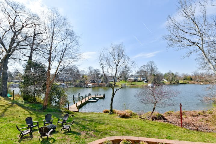 Large Waterfront Home Near Annapolis
