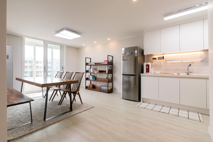 New!! Open!! Seoul Sweet Home / Room Pink - Mapo-gu - Wohnung
