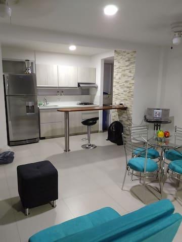Apartamento hermoso y acogedor en San Jerónimo