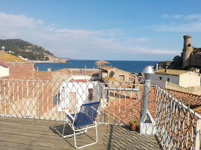 Tossa Apartment-100m from Beach & 50m to Castle-4F