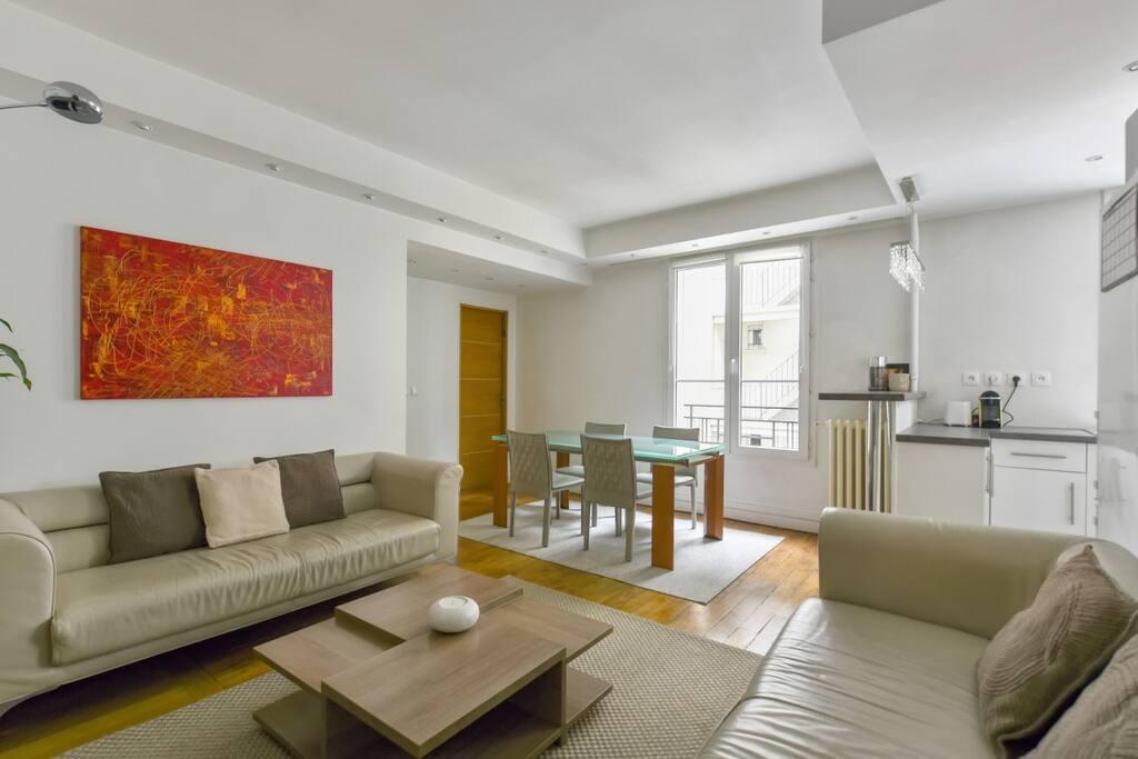 Bel appartement dans le 17 porte de champerret appartements louer paris le de france - Chambre de commerce porte de champerret ...