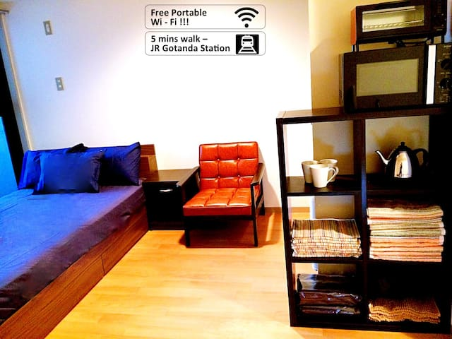 Comfort Home nr Shibuya - Free WIFI - Shinagawa-ku - Apartment
