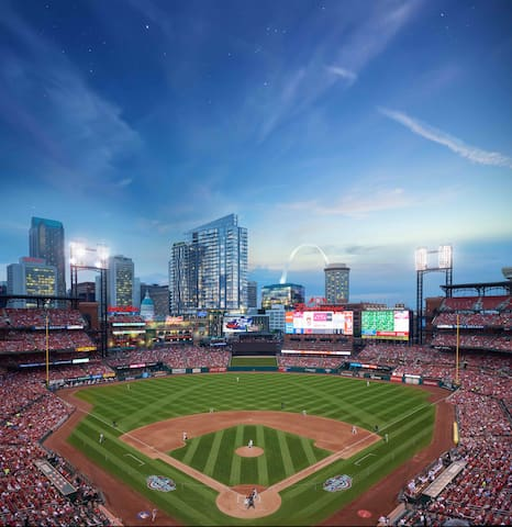 Brand New Property - Direct View of Ballpark 1bdrm