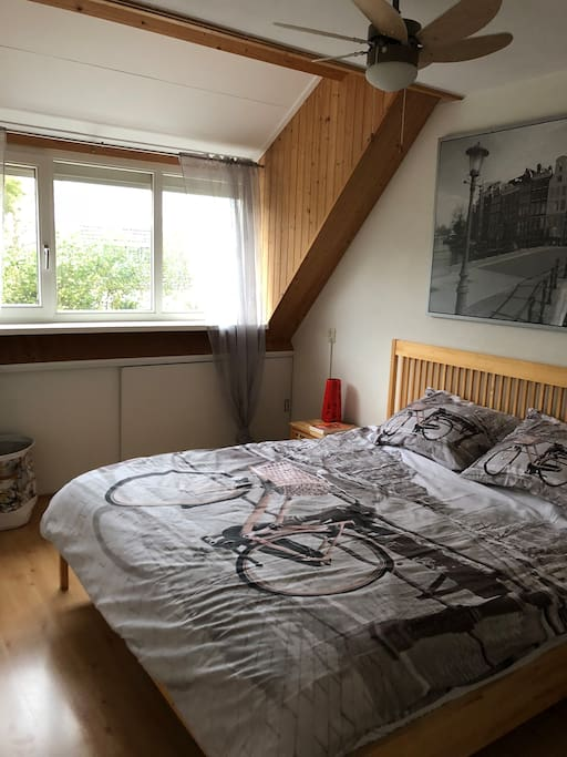 First Level - Amsterdam Bedroom 1 (1 King)