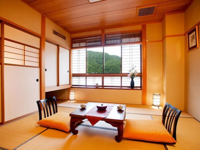 Refreshing Hot Spring Ryokan in Okuhida, with Breakfast and Dinner Included