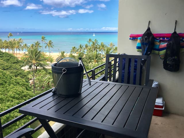 ❤️'s Room ✔Ocean View ✔Lanai ✔Steps2 Beach ✔Wifi