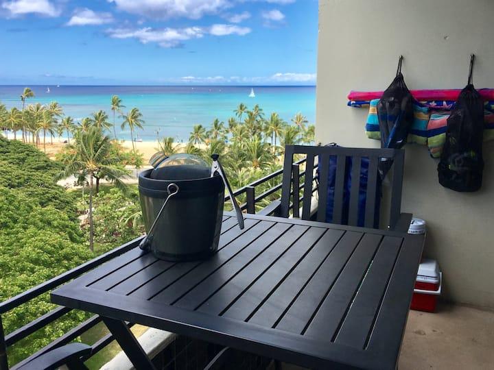 ❤️'s Room ✔Ocean View ✔Lanai ✔Steps2 Beach ✔Wifi