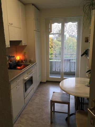 Kleines, gemütliches Zimmer, bequeme Matratze - Kriens - Apartment