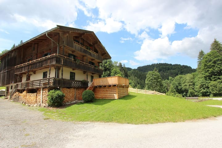 Modern Farmhouse in Hopfgarten im Brixental near Ski Area