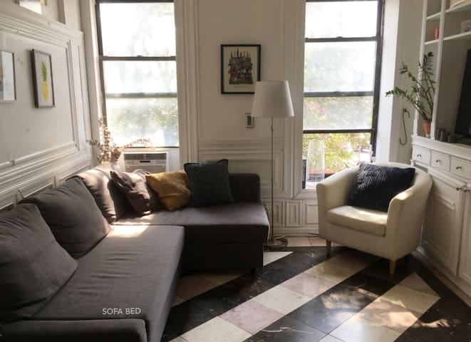 Sunny Bedroom in Prospect Heights