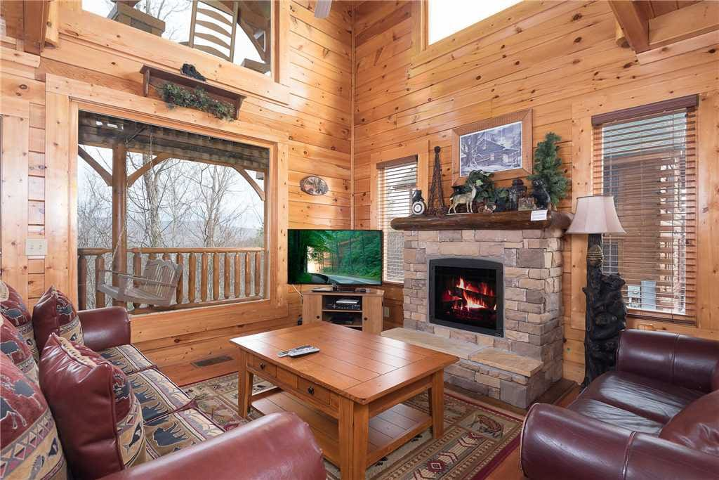 Bench,Entertainment Center,Couch,Furniture,Fireplace